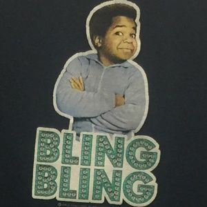 """Bling Bling"" Gary Coleman Graphic Tee"